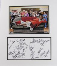 Mrs Brown's Boys Cast Autograph Signed Display